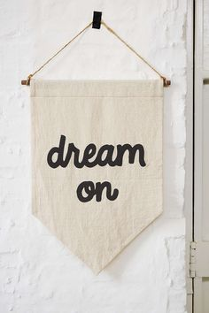 """Buy a plain banner every year to write a verse on and hang in your home. """"Theme Verse of the Year"""""""