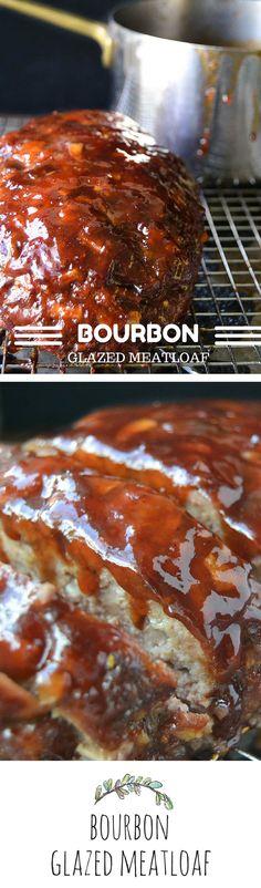 Bourbon Glazed Meatloaf