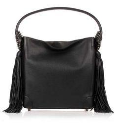 Eloise Hobo black leather bag Christian Louboutin 75e537d6eb645