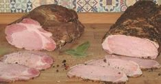Domowe wędliny parzone Quiche, Cold Cuts, Kielbasa, Food Dishes, Sausage, Pork, Cooking Recipes, Homemade, Meat