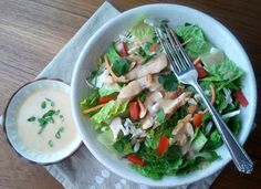 :) oh, that's tasty!: Ginger-peanut dressing
