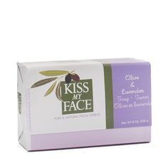 Shop Kiss My Face Olive & Lavender Bar Soap at wholesale price only at ThriveMarket.com