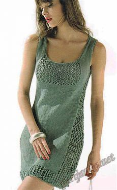 New Crochet Summer Tank Yarns 64 Ideas Crochet Skirts, Knit Skirt, Crochet Clothes, Knit Dress, Sweater Knitting Patterns, Crochet Cardigan, Summer Knitting, Crochet Fashion, Mode Outfits