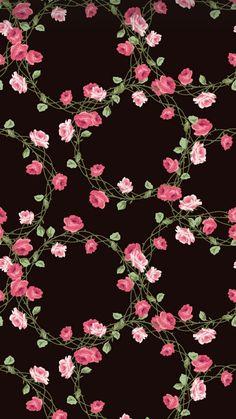 New Wall Paper Floral Desktop Backgrounds Ideas Best Flower Wallpaper, Black Phone Wallpaper, Flower Background Wallpaper, Phone Screen Wallpaper, Emoji Wallpaper, Rose Wallpaper, Cute Wallpaper Backgrounds, Flower Backgrounds, Cellphone Wallpaper