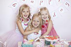 strawberry birthday party via the tomkat studio
