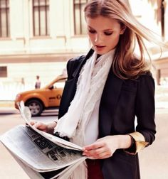A well cut black blazer is an essential must have item in your wardrobe