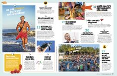 Baltimore Magazine. June 2015. Beach Guide.