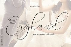 Ad: New England - Elegant Fonts by MrLetters on New Product Rachela Lovely Calligraphy Font - --- New England Script is a modern calligraphy font with the current handwriting style, this Calligraphy Fonts, Script Fonts, New Fonts, Modern Calligraphy, Handwritten Fonts, Wisdom Script Font, Modern Typeface, Modern Fonts, Typography Fonts