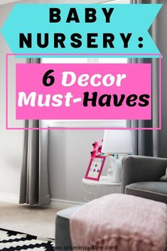 Here are my baby nursery decor must haves in six steps with the help of designer and friend Brenda. We created a functional, modern, and transitional nursery that my daughter can grow into for our new home. Baby Nursery Decor, Nursery Furniture, Girl Nursery, Baby Decor, Labor Day Crafts, Used Baby Items, Nursery Organization, Organization Ideas, Newborn Diapers