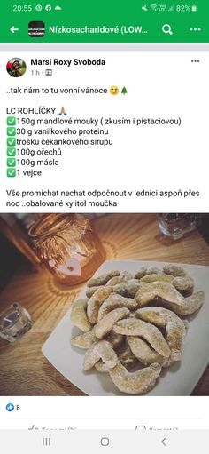 Low Carb Recipes, Healthy Recipes, Desert Recipes, Lchf, Deserts, Food And Drink, Snacks, Biscuits, Low Carb