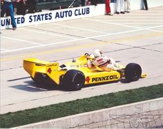 1980 Indy 500 Tim Richmond catching a ride after running out of fuel with race winner Johnny Rutherford