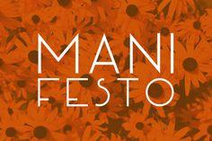 Manifesto – Free Font