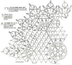 Crochet Art: Crochet Pattern Simple Doily - Hexagon