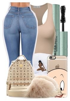 """Untitled #2530"" by kayla77johnson ❤ liked on Polyvore featuring Too Faced Cosmetics, MCM, Casetify and Cape Robbin"