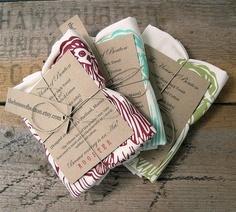 flour sack tea towels...