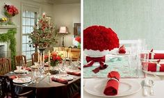 Christmas Table Decorating Ideas~12 Ways of Christmas
