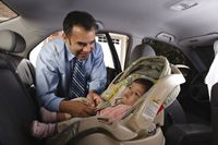 CDC Fact Sheet More than 1300 children are killed every year in motor vehicle accidents! More than 600,000 children a year ride in the car unrestrained at least some of the time.