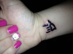 Perfect sister tattoo