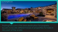 Best Destination for your properties! www.postingfirst.com