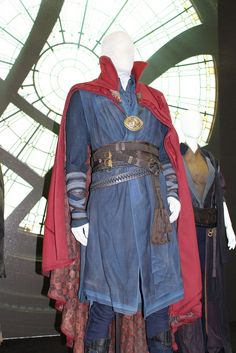 SDCC 2016 Doctor Strange Costume Doctor Strange Costumes On Display At Marvels Comic Con Stage