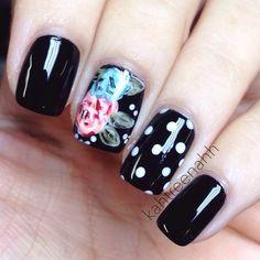 Instagram photo by kahtreenahh #nail #nails #nailart