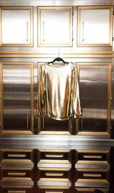 Kelly Wearstler's Closet #cuadrosmodernos #buyart #art
