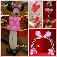 Minnie Mouse Theme Ph CreationsMorningstar BalloonsBalloons
