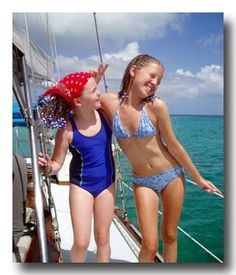 Girls Just Wanna Have Fun! Crewed Sailing Charter Yacht Vacations Aboard Three Moons