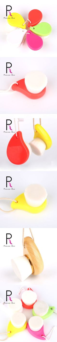 Princess Rose Professional Face Washing Cleansing Brush Deep Nose Facial Pores Cleanser Cleaning Face Brush Beauty Tools PR06CW