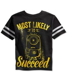 Despicable Me Boys' Minion Tee