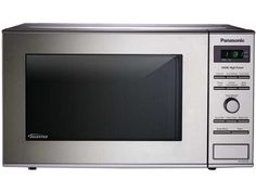 Panasonic NN-SD372S - .8 Cu. Ft. Compact Countertop Microwave with Inverter Technology NN-SD372S Stainless