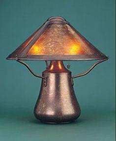 Mica Mushroom Lamp by Mica Lamp Company