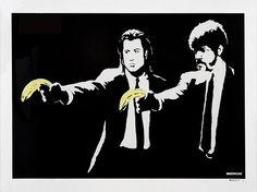 Pulp Fiction de l'artiste Banksy
