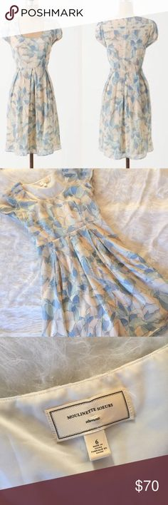 Moulinette Soeurs Montserrat Dress This Silk dress is in perfect condition! Size 6. Smoke and pet free home. No flaws! No trades! Anthropologie Dresses Midi
