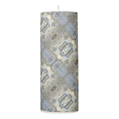 #Bubbling Running Water 0139 Pillar Candle - #candle #candles #special #custom