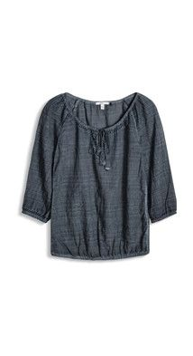 OUTLET edc - blouse w embroidery