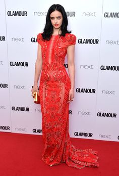 Pin for Later: Hollywood Se Mélange aux Stars Britanniques Lors des Glamour Women of the Year Awards Krysten Ritter