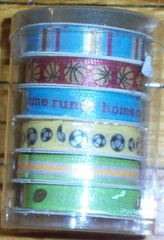 12 Scrapbooking 1/4 Inch Ribbon 6 Yards Printed 6.5mm X5.49 M Craft Supply (mix colors) *** You can find out more details at the link of the image.