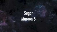 Maroon 5 - Sugar (lyrics) - YouTube