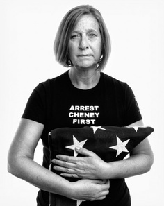 Beauty looks out through the pain and love in her eyes. Cindy Sheehan, antiwar activist and mother of Casey Sheehan, a soldier who was killed in Iraq in 2004.