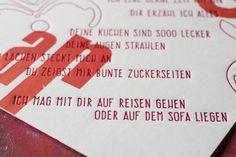 """""""du bist WUNDeRbar"""" - postcard.Mit Holzlettern wurde das frische Orange Pantone 1645 gedruckt und der Text mit Klischee in reinem Magenta! Gedruckt wurde auf Munken Lynx cremeweiß 600gramm. letterpress manufaktur salzburg"""