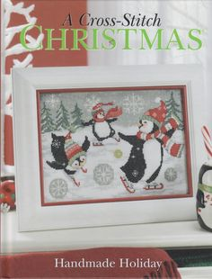(1) Gallery.ru / Фото #1 - A Cross Stitch Christmas Handmade Holiday - marinamelnik
