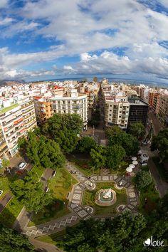 Plaza Weyler, Santa Cruz de Tenerife ¡Espectacular foto!