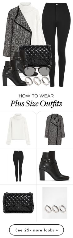 """""""Style #11694"""" by vany-alvarado on Polyvore featuring Topshop, Karl Lagerfeld, Elena Mirò, Chanel, Yves Saint Laurent, Christian Dior and ASOS"""