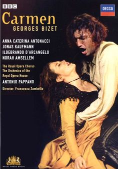 Bizet: Carmen DVD (The Royal Opera) 2007