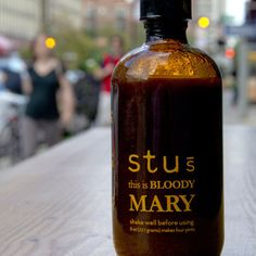 Stu's Bloody Mary 8oz 4 Pack, $31.95, now featured on Fab.