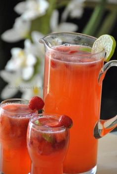 Moscow Mule Mugs, Lime, Strawberry, Drinks, Tableware, Food, Drinking, Limes, Beverages
