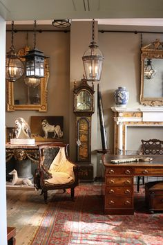 The parts that make a whole of the English country house aesthetic at Jamb.