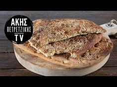 Λαγάνα με ούζο Επ. 24 | Kitchen Lab TV | Άκης Πετρετζίκης - YouTube Pancakes, Bread, Traditional, Breakfast, Recipes, Food, Youtube, Morning Coffee, Brot