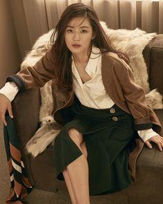 Jeon Ji-hyeon becomes new muse for fashion brand MICHAA @ HanCinema :: The…